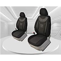 Maat stoelhoezen compatibel met FIAT Panda type 169 bestuurder en passagier vanaf 2003 - 2012 Kleurnummer: 910