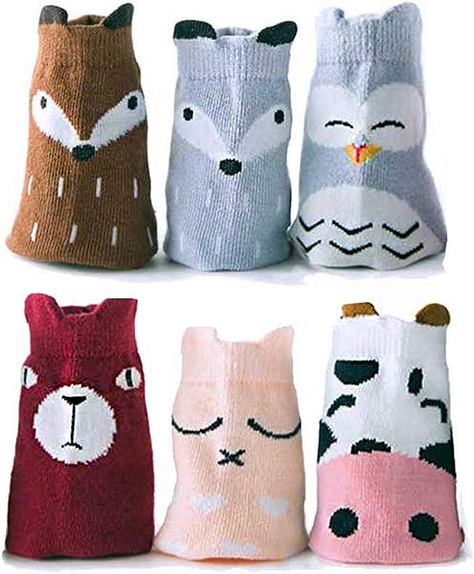 4 Pairs//set Soft Cotton 2016 Newborn Infant Kids Lovely Baby 0-3 Years Socks NEW