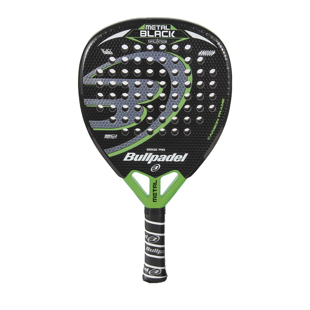 Bullpadel Black Metal 15 - Pala de pádel para Hombre: Amazon.es ...