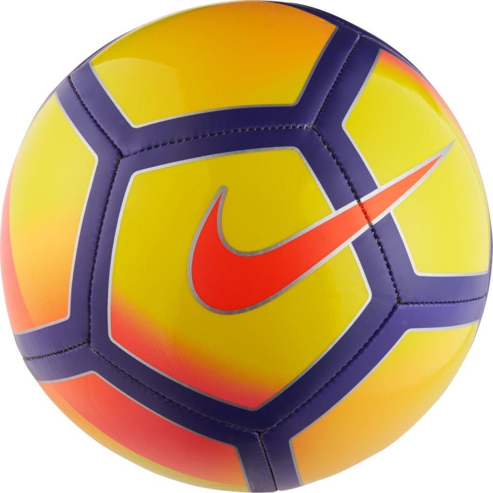 Nike Unisex Pitch Soccer Ball, Yellow/Purple/Pink, 3
