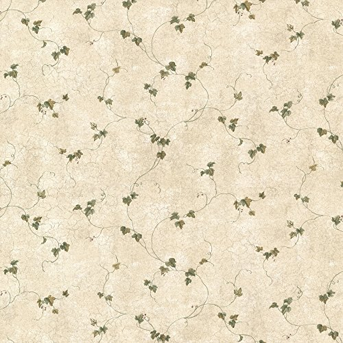 Chesapeake CTR21701 Perry Sage Ivy Trail Wallpaper