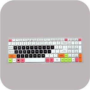 15.6 Inch Keyboard Protective Film Cover Skin Protector for Acer Vx5 Aspire Vx15 Vx5 591G Vx 15 Gaming Laptop Vx5 591G 54Vg-Candyblack-