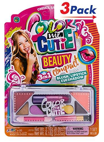 JaRu Makeup Beauty Color Girl Professional Makeup. Pack of 3   Item #95