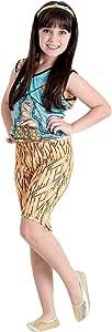 Sulamericana Fantasias Monster High Cleo de Nile Pop, GG 14/16, Bege/Azul