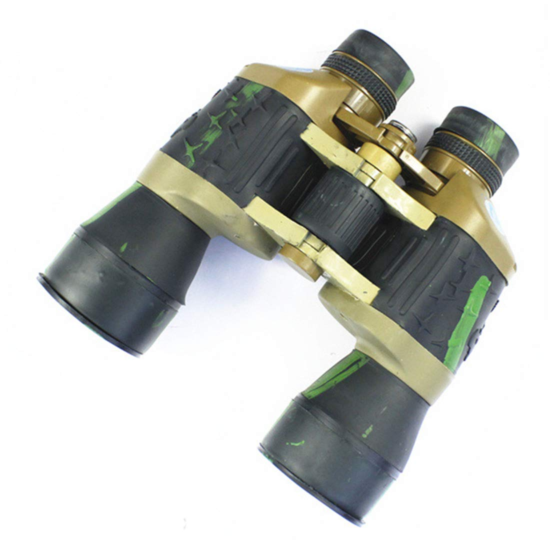 Dhrfyktu Telescopio Impermeable de del la visión Nocturna del de Nivel de poca luz de los prismáticos HD para el Uso al Aire Libre (Color   Camouflage) 62f3e5
