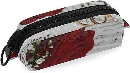 Cremallera grande Celebración Flora Flower Girl Cosmetic Bag Boy Office Pen box Estuche para lápices: Amazon.es: Oficina y papelería