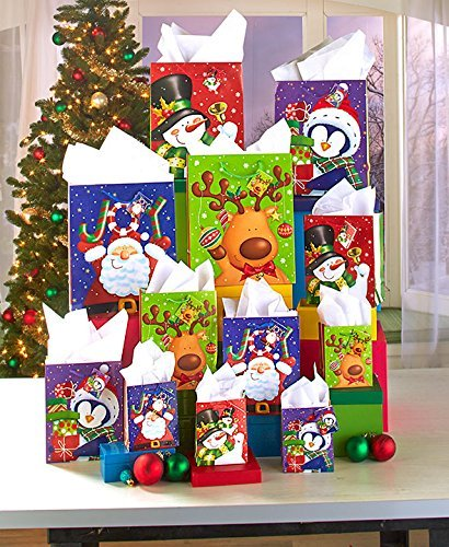 Best Buy! 28-Pc. Holiday Gift Bag Set