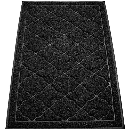 [KW Pets Non-Toxic Cat Litter Mat, Extra Large (35 x 23-Inch), Black] (Costume Design For Rabbit Hole)