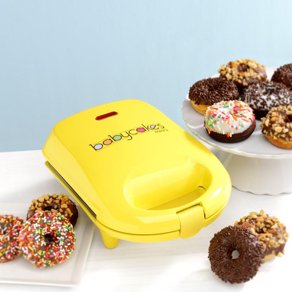 Amazon.com: Babycakes, Mini máquina para hacer donas ...