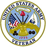 Chiam-Mart 1 Pc Excited Unique United States Army Veteran 1775 This We'll Defend Sticker Sign Car Stickers Bike Patches Decals Trucks Window Truck Bumper Racing Cars Vinyl Laptop Decal Size 8''x8''
