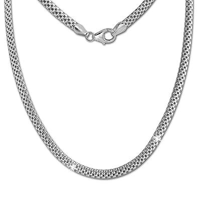 1ee931ed357d6c SilberDream Collier silber Damen Echt Halsschmuck 45cm 925 Silber SDK26445J