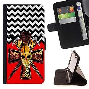 Dragon Case - FOR Samsung Galaxy S6 - Miracles happen everyday - Caja de la carpeta del caso en folio de cuero del tir¨®n de la cubierta protectora Shell