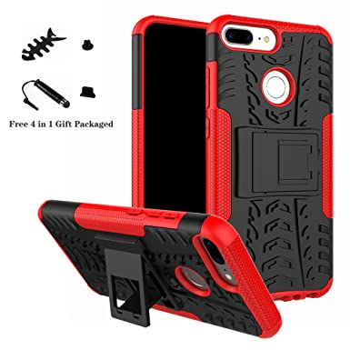 best service f40df 92b4d LiuShan Honor 9 Lite case, [Shockproof] Heavy Duty Combo Hybrid Rugged Dual  Layer Grip [Impact Protection] Cover with Kickstand For Huawei Honor 9 ...