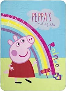 Peppa Pig Kids Fleece Blanket 100 x 140 cm