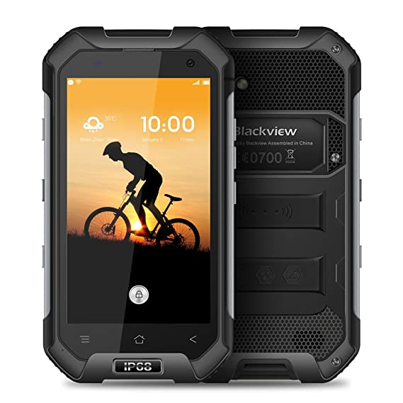 sale retailer 89bb0 b523d Blackview BV6000 Waterproof Smartphone IP68 Gorilla Glass 3 Shockproof  Dustproof Android 6.0 3GB RAM 32GB ROM 4.7 Inches Outdoor Mobile Cell Phone  ...