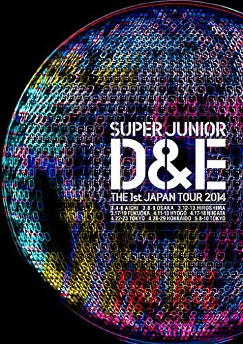 Super Junior Donghae & Eunhyuk - Super Junior D&E The 1St Japan Tour 2014 [Japan DVD] AVBK-79226