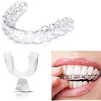 4 Stuks Silicone Nacht Mouth Guard Voor De Tanden Op Elkaar Klemmen Slijpen Dental Bite Hulp Van De Slaap Witter Maken…