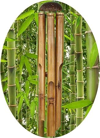 Windspiel Bambus groß NEU Klangspiel Feng Shui Hängedeko