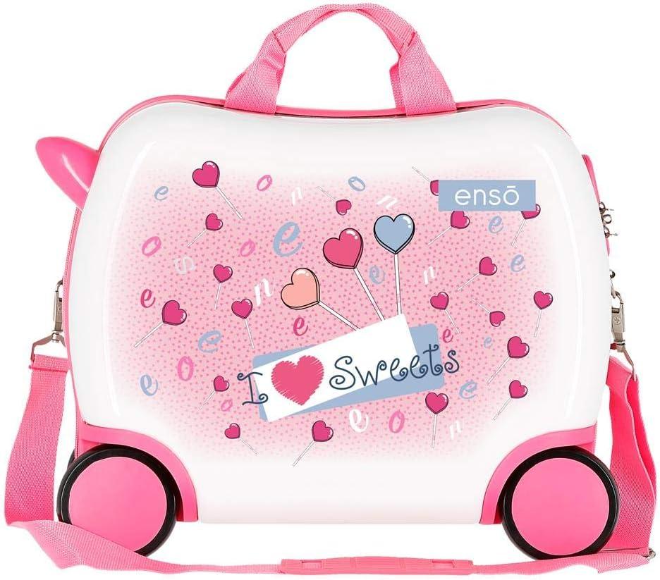 Petite valise Enfant porteur Enso Fantasy Lollipops