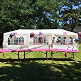 Heavy Duty Outdoor Canopy, 10x30 ft Party Gazebo