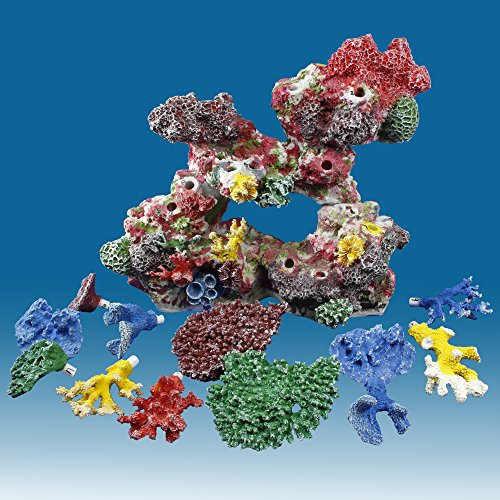 Instant reef dm032pnp artificial coral reef aquarium decor for Artificial coral reef aquarium decoration uk