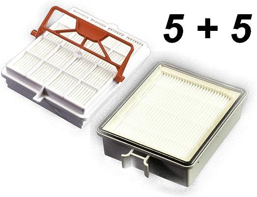 5 filtros higiénicos de carbono + 5 filtros de salida adecuados LUX Intelligence: Amazon.es: Hogar