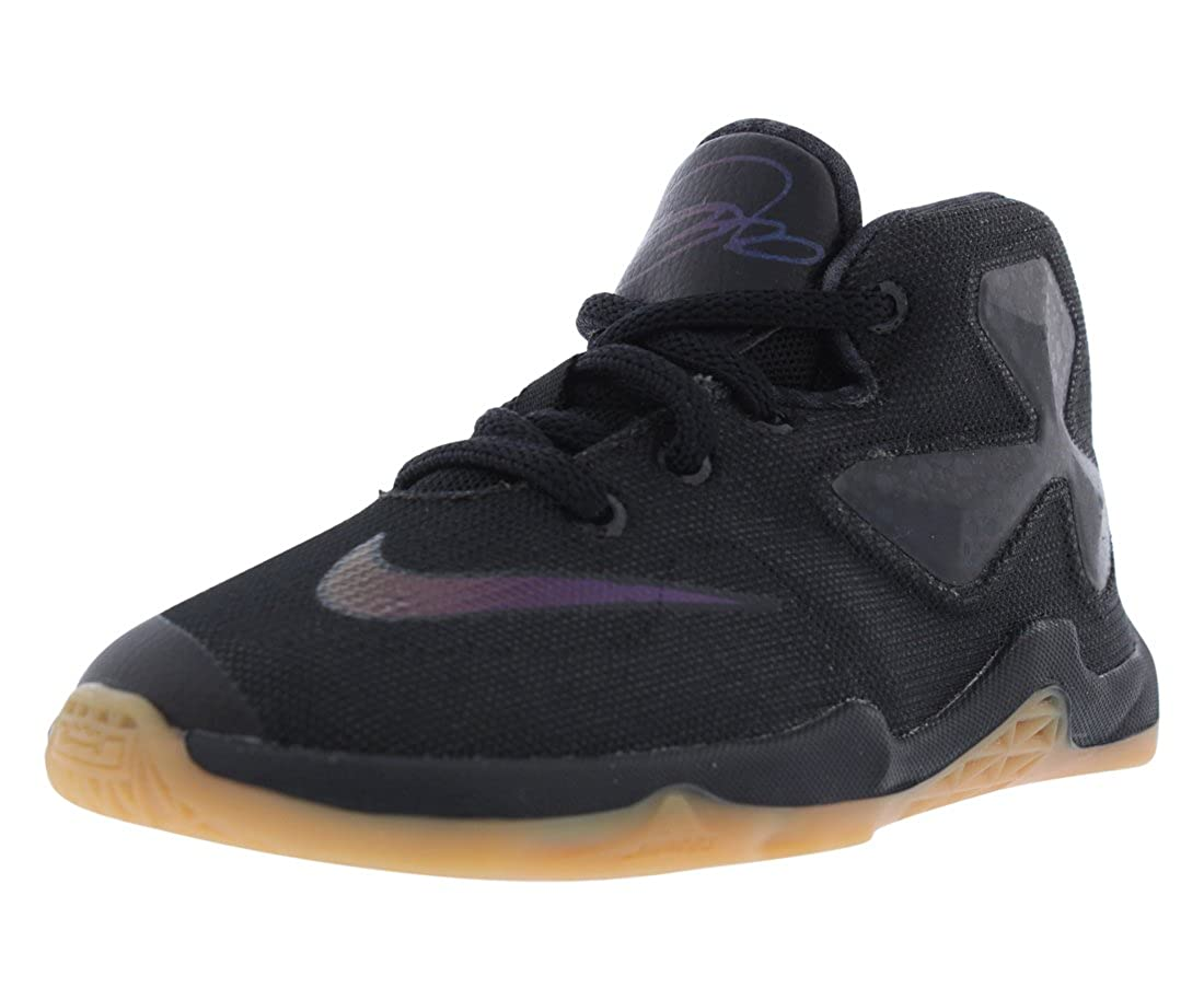 finest selection 84949 78fee Amazon.com   Nike Boys Lebron XIII Toddler Basketball Shoes Black 5 Medium  (D) Toddler   Sneakers