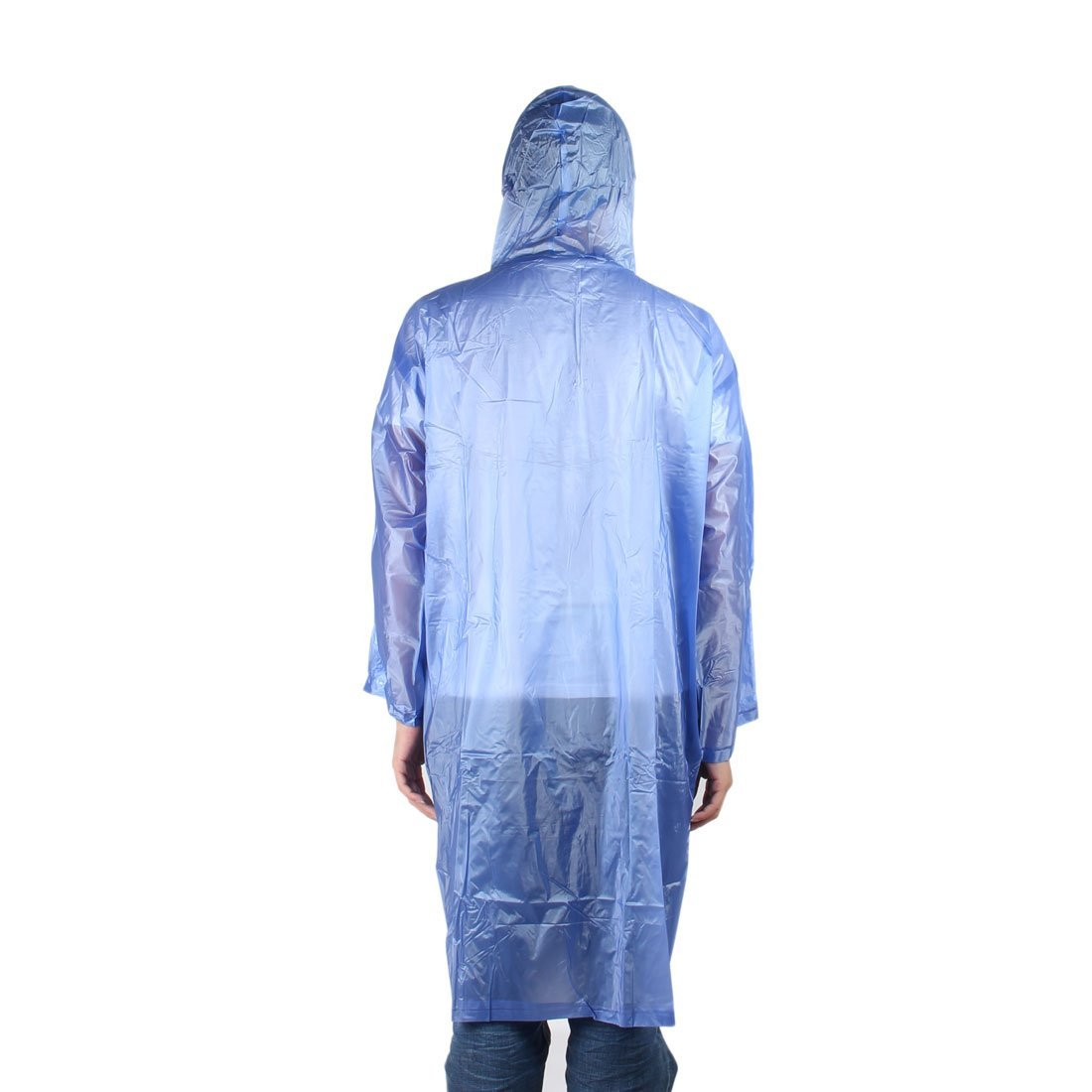 Amazon.com: eDealMax PVC al aire Libre Unisex resistente al agua Lluvia del impermeable capa de la Chaqueta Azul del Poncho: Home & Kitchen