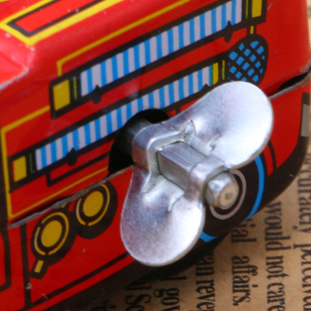 Kofun /Feuerwehrmann Auto Uhrwerk Spielzeug Kinder Kinder Vintage Zinn Spielzeug Reibung Tank Moderne Uhrwerk Spielzeug Geschenk Idealer Weihnachtsgeburtstag Modell F/ür Kinder Geschenk F/ür Kinder