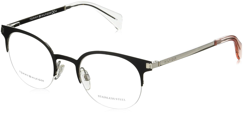 5c434f70 Amazon.com: Optical frame Tommy Hilfiger Metal Matt Black - Silver (TH 1382  CSF): Clothing