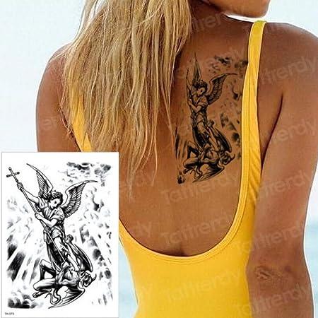Handaxian 3pcs Tatuaje ángel Beat Diablo diseño Brazalete ...
