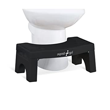 "Amazon.com: Squat N Go 7"" Folding Squatting Stool 