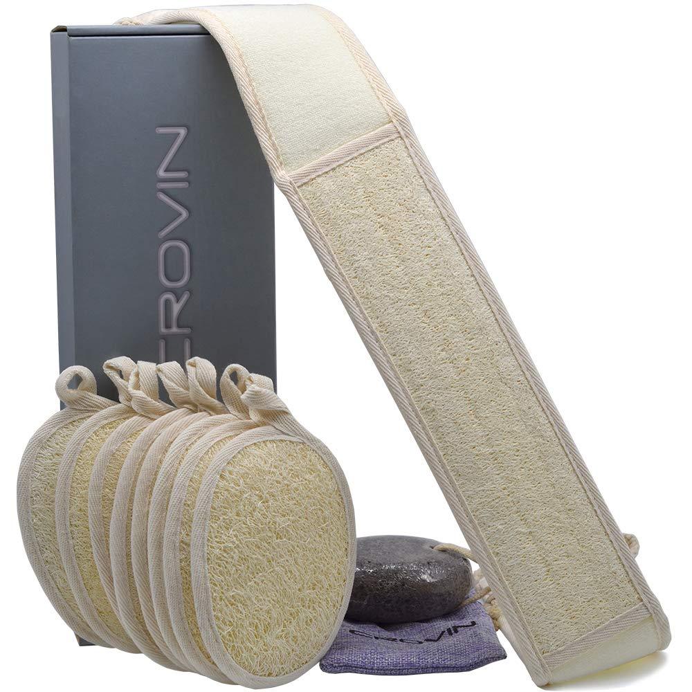 Crovin Exfoliating Foot Loofah Pads