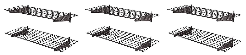 Muscle Rack Hws4818 2pksv Heavy Duty 48 2 Pk Wall Shelf