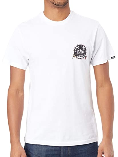 bd38449d6a Vans T-SHIRT UOMO PUSHING UP DAISIES SS VA3HR6WHT (S - WHITE ...