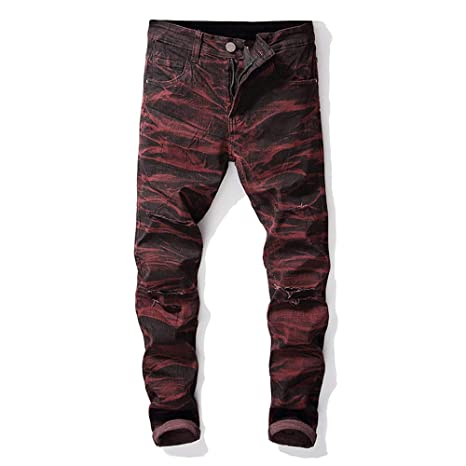 Pantalones vaqueros para hombre Pantalones vaqueros rectos ...