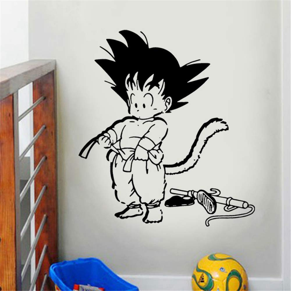 Dragon Ball Tatuajes de Pared de Dibujos Animados Goku Dragon Ball ...