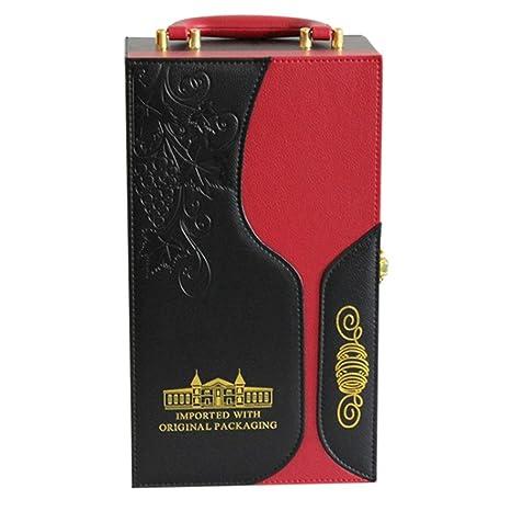 Elegante caja de regalo para almacenamiento de vin Estuche ...