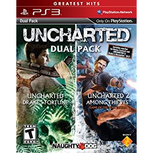 UNCHARTED Greatest Hits Dual Pack – Playstation 3