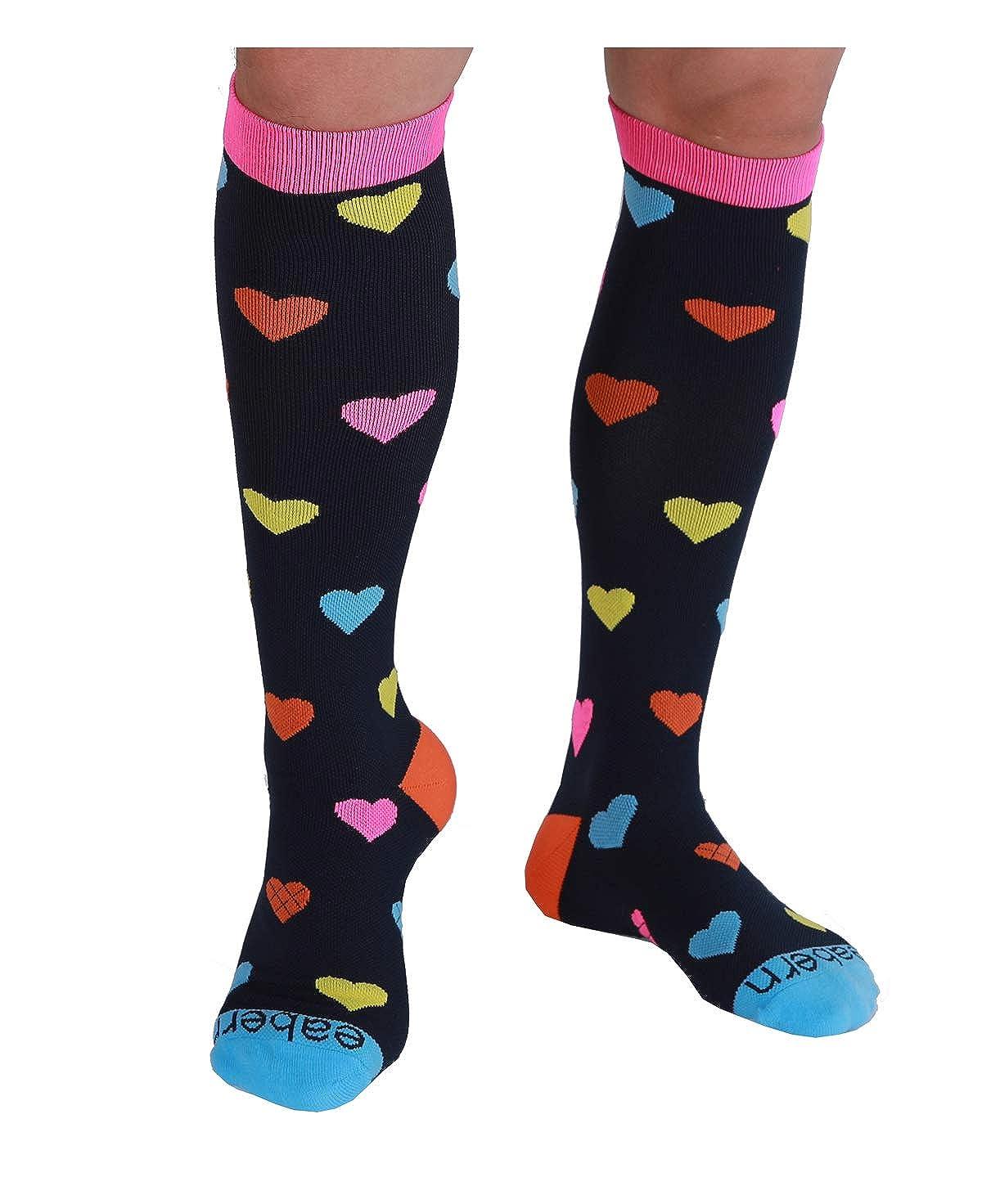 Eabern 20-30mmhg) SOCKSHOSIERY レディース B07FMNM5VR 633 Heart (2 shoe Pairs 20-30mmhg) size:8.5-11|633 M shoe size:8.5-11 M shoe size:8.5-11|633 Heart (2 Pairs 20-30mmhg), ブリヂストン快眠ショップ:0b6c7bf4 --- integralved.hu