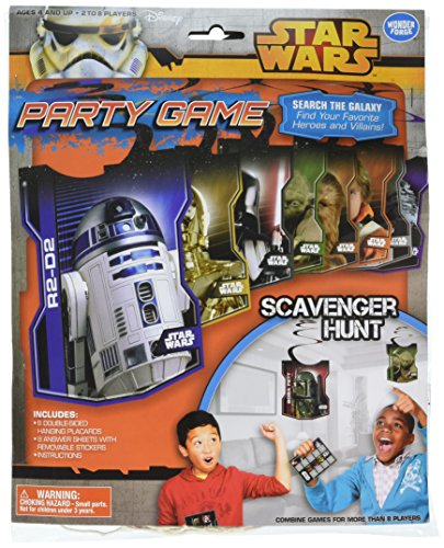Star Wars Scavenger Hunt Birthday Party Game Board Game by Wonder Forge
