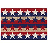Liora Manne FT123A76114 Folly Patriot Shapes Rug, Indoor/Outdoor, Americana Review