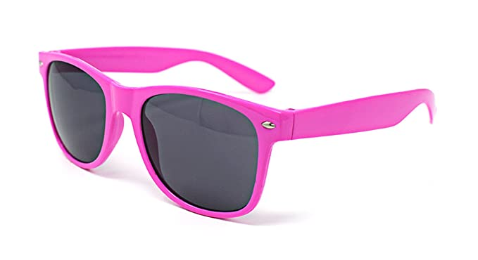 Rosado Gafas de Sol Estilo Clásico Para Adultos UV400 Tonos Mujer Calidad Superior Unisex Hombres 100% Protección UV Montura Con Borde la Moda