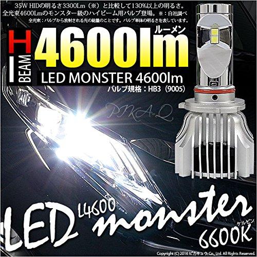 ピカキュウ LED MONSTER L4600 LED フォグキット HB4 ホワイト 6600K 21583 B00MMY87B6