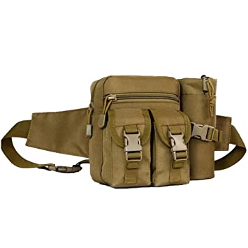 0c0712128bab Amazon.com : OCTCHOCO Camouflage Waist Pack Kettle Bag with Water ...