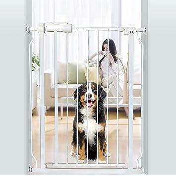 Barrera seguridad Puertas para bebés Extra Altas y Anchas para Puertas de escaleras, Protector de