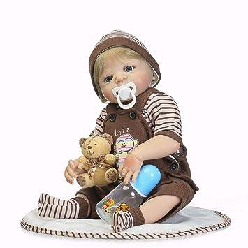 Amazon.es: iPenty 46cm Muñeca de simulación Muñeca de Juguete ...