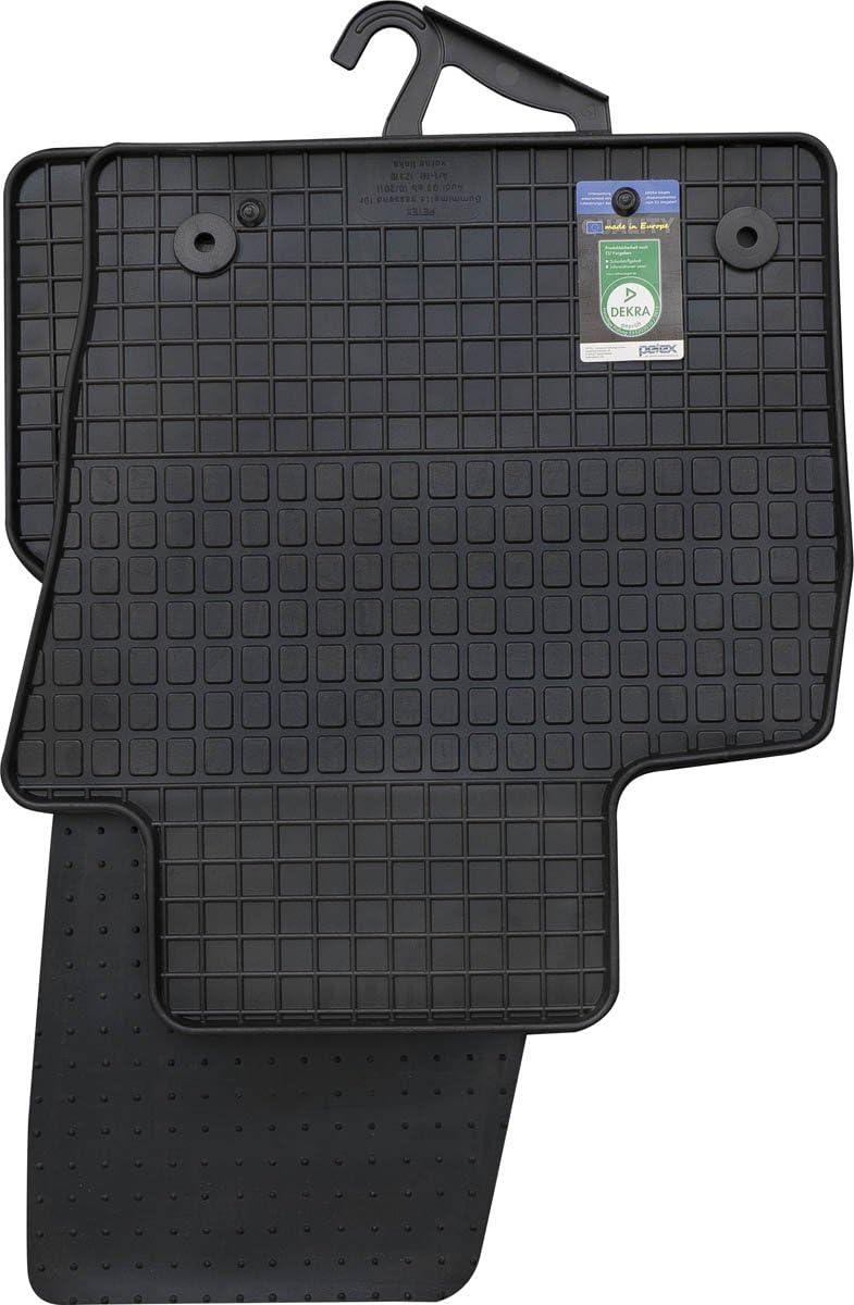 Petex 12310 Gummimatten Für Passend Für Q3 Ab 10 2011 11 2018 Fußmatten Schwarz 4 Teilig Auto