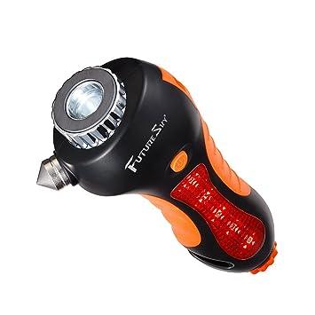 futuresky coche martillo de seguridad de emergencia 6 en 1 ...