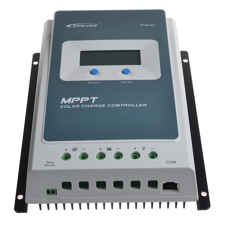 40 Ré gulateur solaire contrô leur de charge MPPT ré gulateur Batterie pv 100 V [Classe é nergé tique A] Epsolar